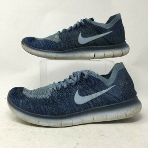 Nike Mens 8.5 Free Run Flyknit 2 Running Sneakers